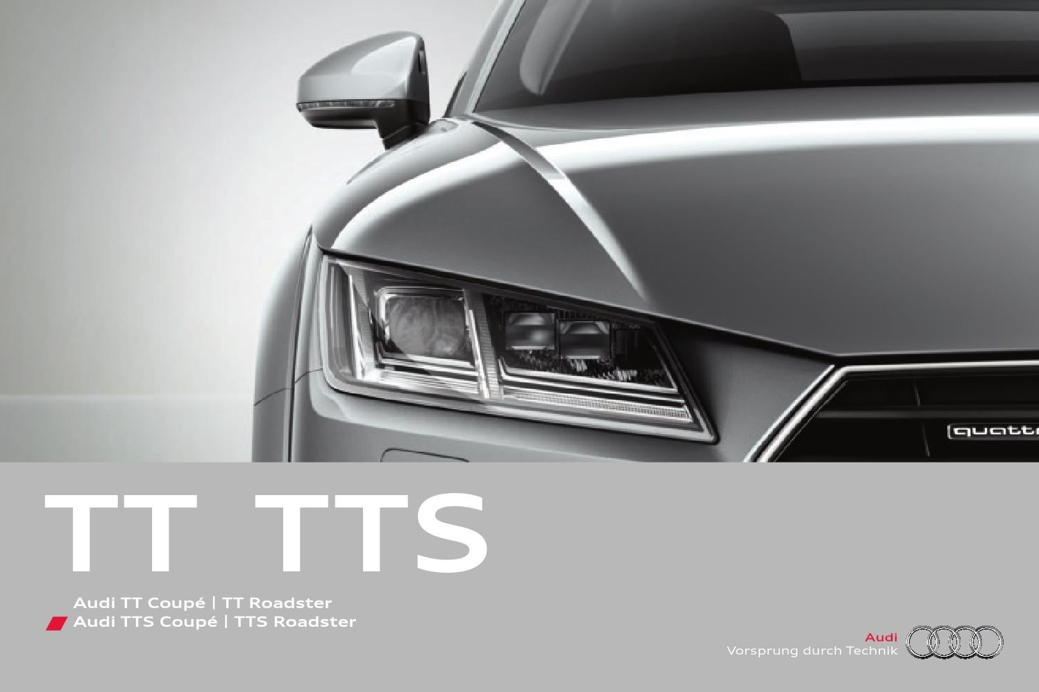 Audi Tt Esite By Zeeland Family Issuu List Moulding Chrome 10mm Body Interior