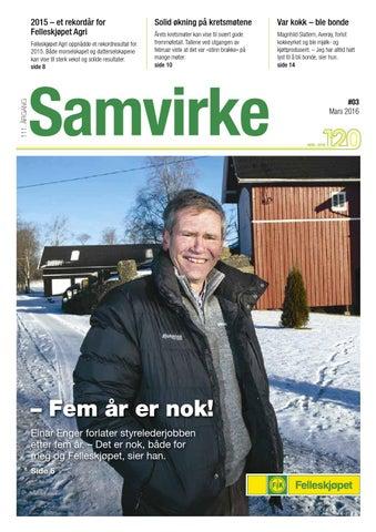 8d43e7a2 Samvirke nr 3 - 2016 by Felleskjøpet Agri - issuu