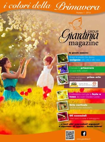 Giardinia I Colori Della Primavera By Lucabaldi Grafica