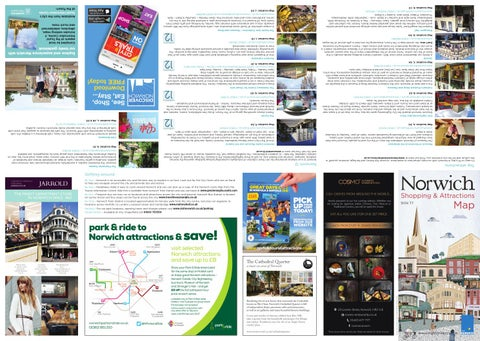 Norwich Map 2016 by Norwich City Council - issuu
