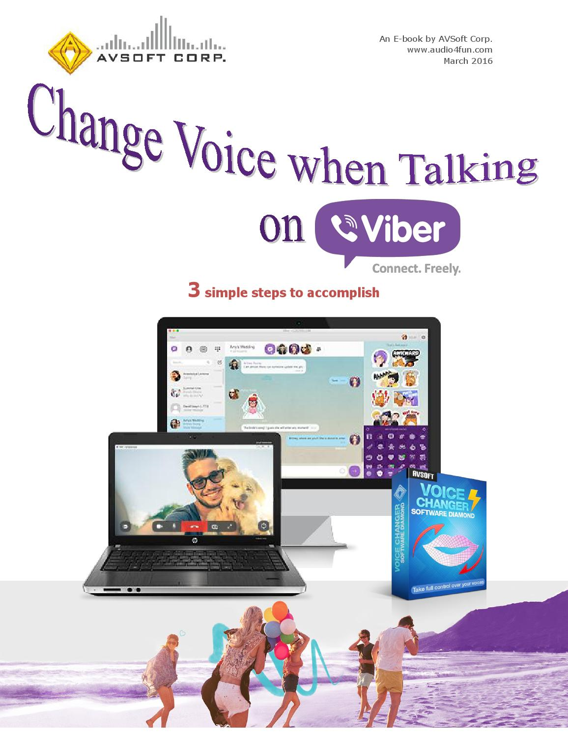 Change Voice when Talking on Viber by Audio4fun - issuu