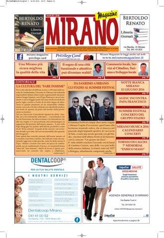Mirano Magazine Marzo 2016 by Tobias Capo - issuu 4b71ff3bd41