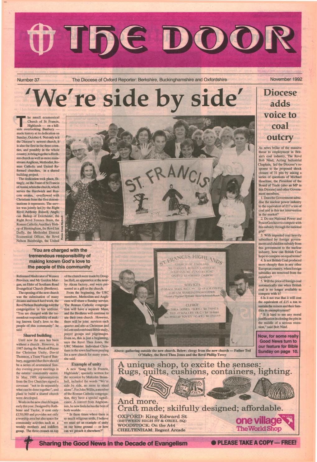 37 November 1992 by Diocese of Oxford - issuu