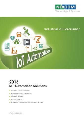 Nexcom 2016 IoT Automation Solutions Catalog by SKSGroup Oy