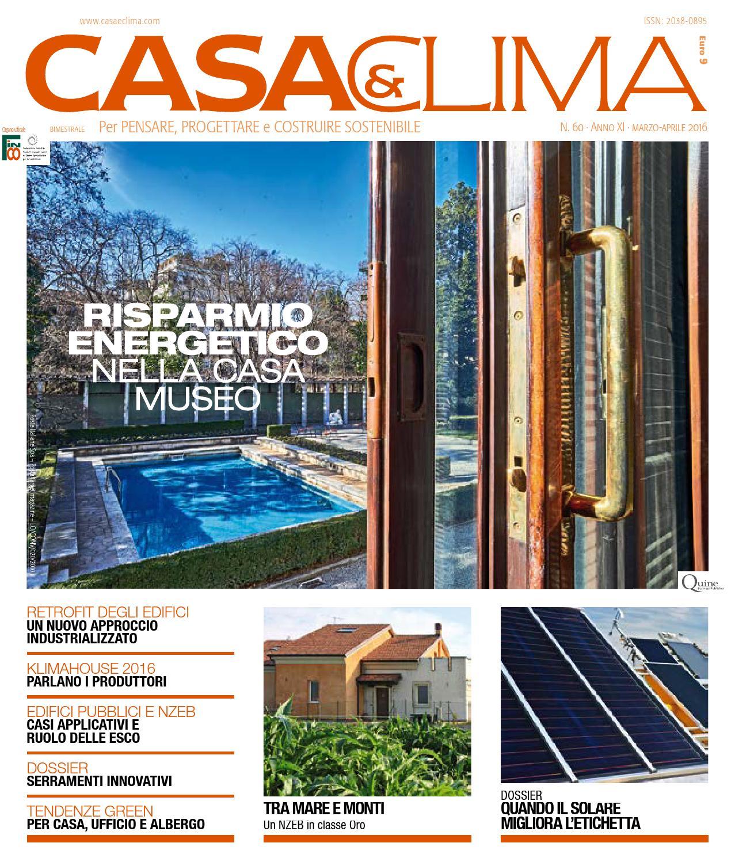 Casa clima 60 by quine business publisher issuu for Costruire un nuovo processo di prestito a casa