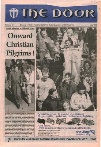 42 May 1993 By Diocese Of Oxford Issuu