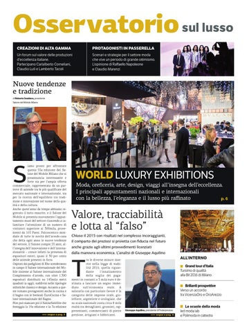 Oss lusso gen 2016 by Golfarelli Editore International Group - issuu 52f96acdf8c1