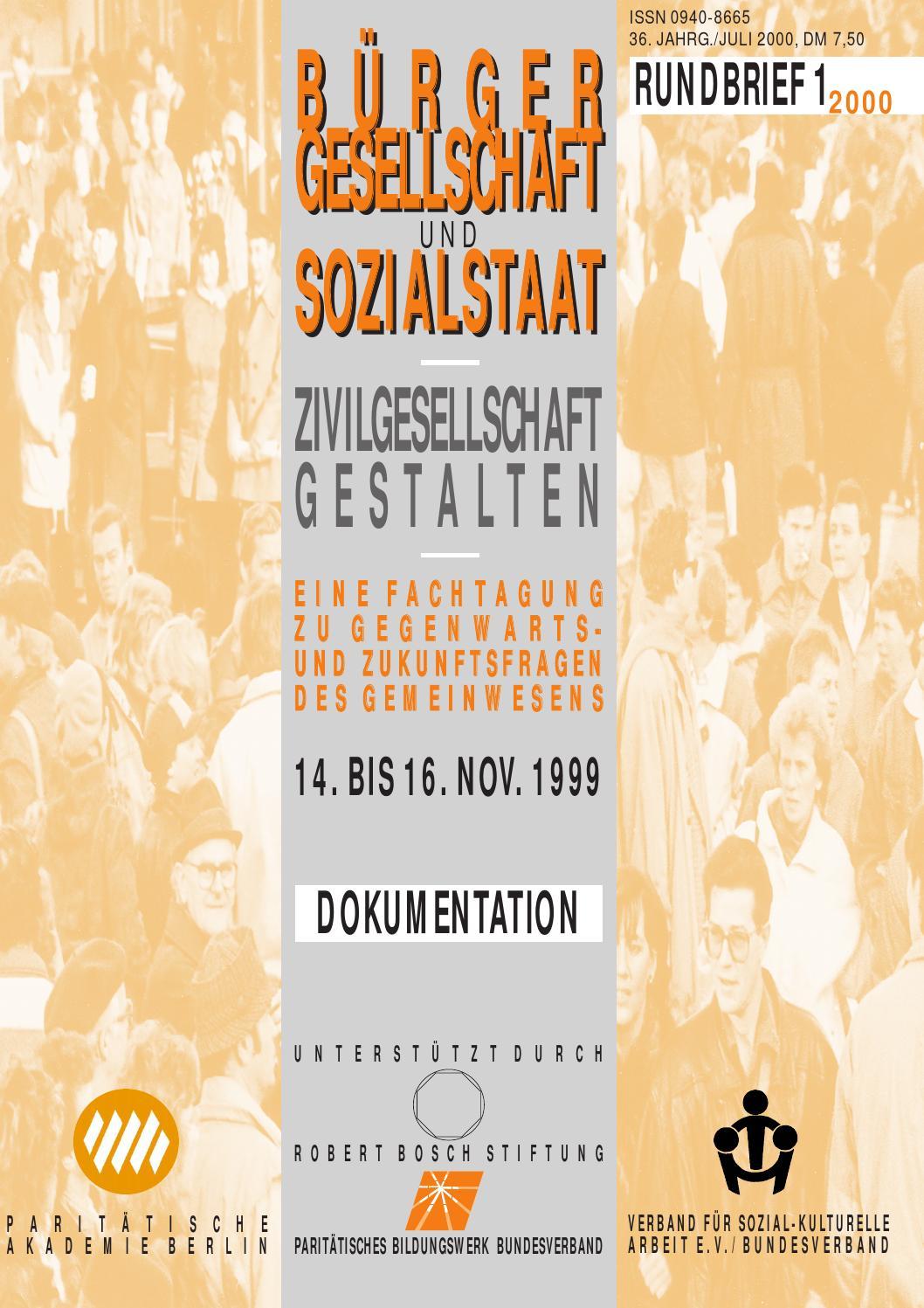 Rundbrief 1-2000 by Rundbrief Stadtteilarbeit - issuu