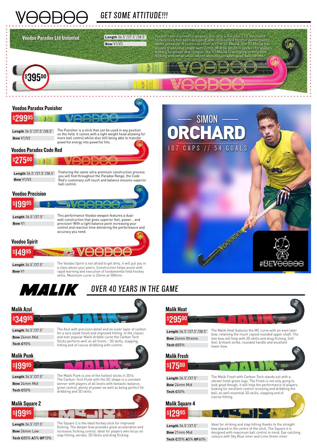 Just Hockey Catalogue 2016 - Celebrating 30 Years by Just