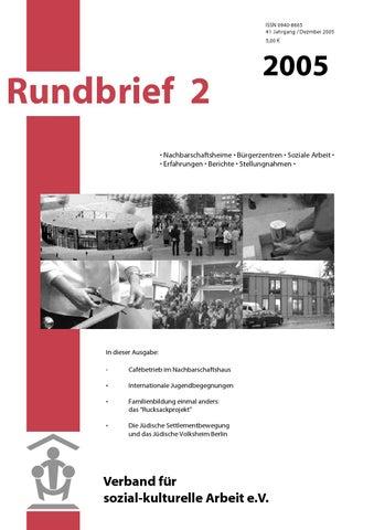 Rundbrief 2 2005 by Rundbrief Stadtteilarbeit issuu