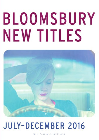 Bloomsbury adult catalogue jul dec 2016 by bloomsbury publishing issuu for australia new zealand enquiries tel 61 2 8820 4900 bloomsburysyd prices publication dates and jackets are subject to change and may vary to view fandeluxe Image collections