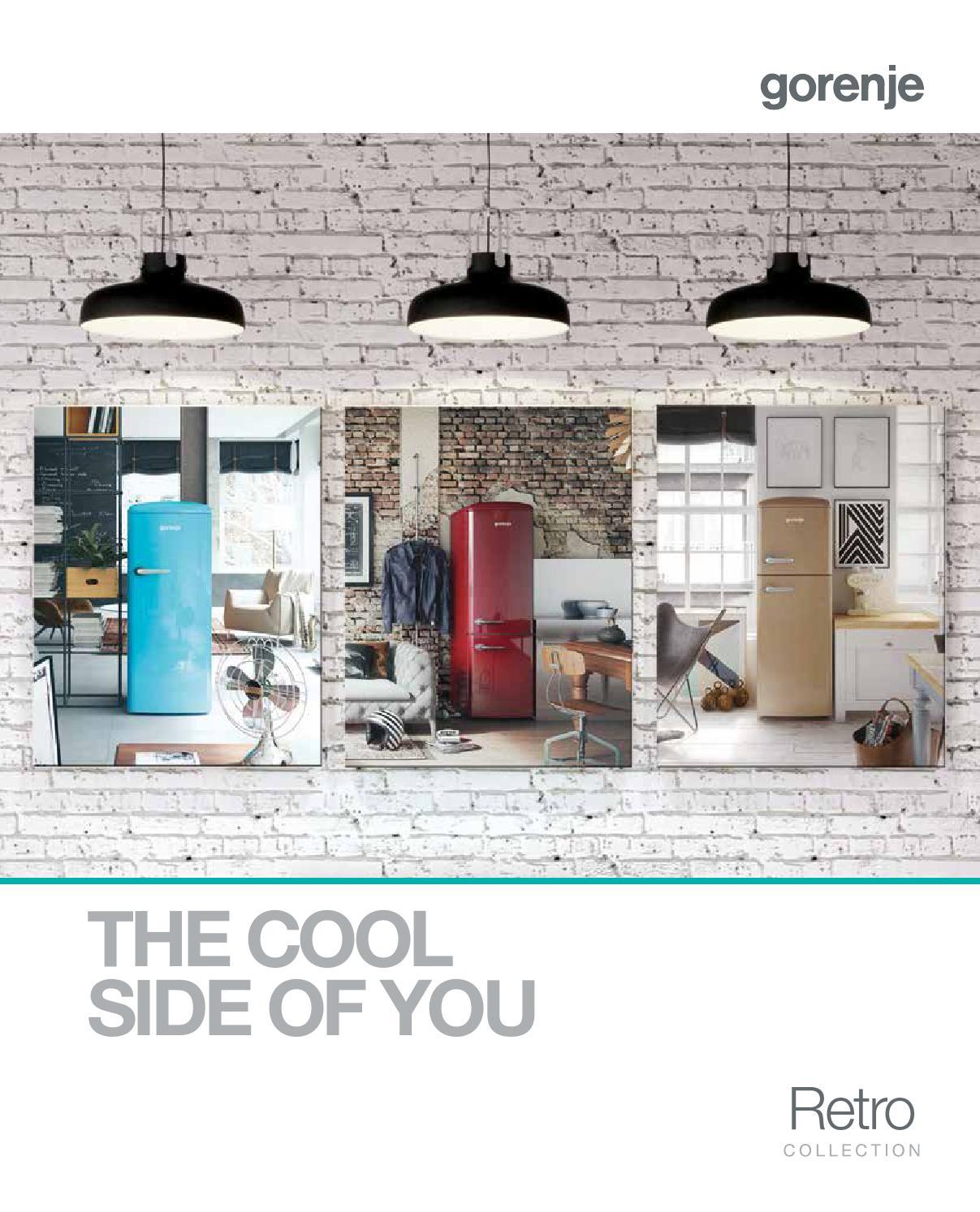 gorenje retro brochrue 2016 by gorenje d d issuu. Black Bedroom Furniture Sets. Home Design Ideas