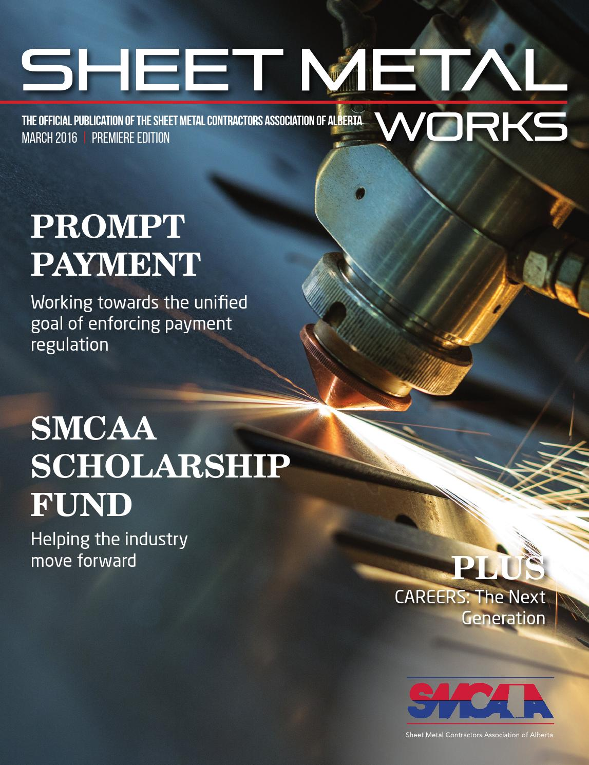sheet metal works march 2016 by lester publications issuu