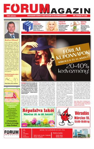 FÓRUM Magazin 2016 3 by Company Info Kft. - issuu 29ee11d082