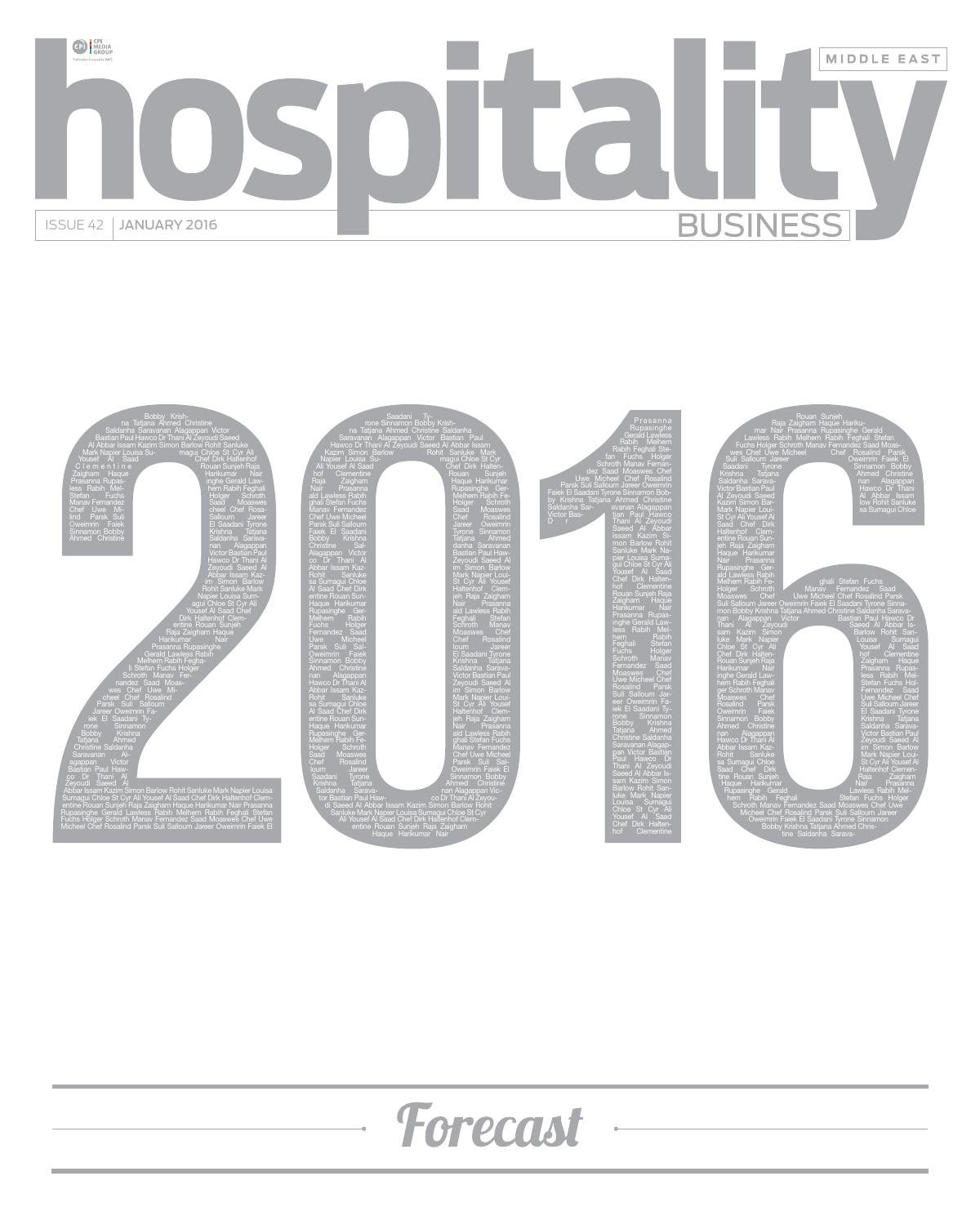 Hospitality Business Me 2016 Jan By Hospitality Business Me Issuu