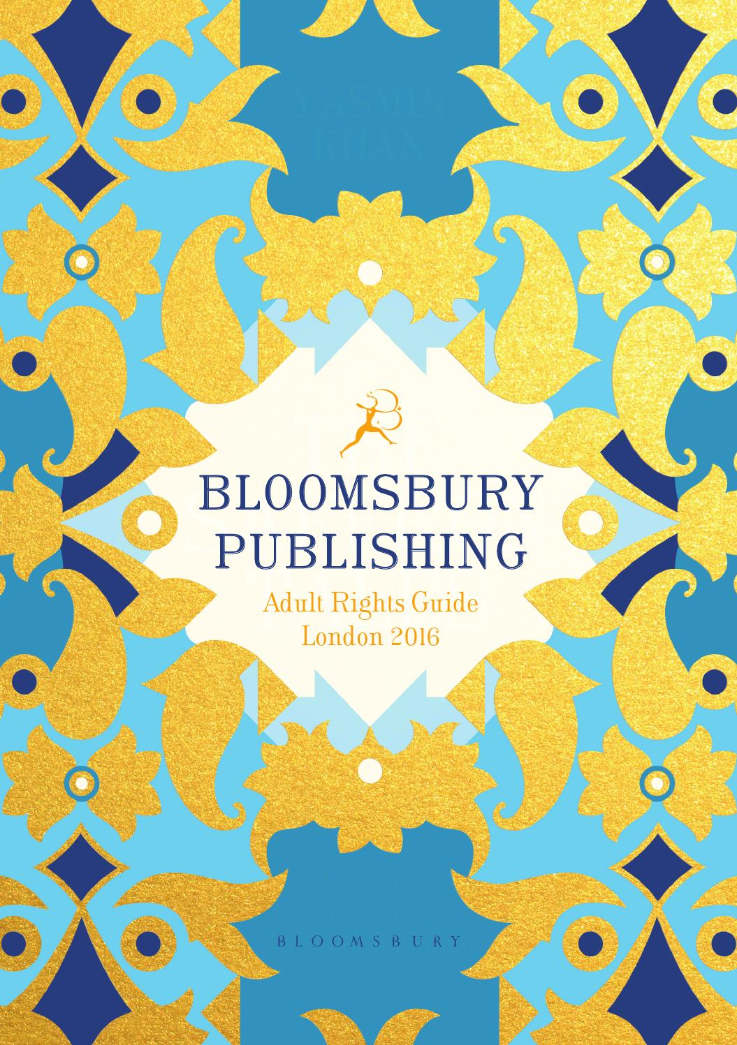 f30a9481f6e421 Bloomsbury Adult Rights Guide - London Book Fair 2016 by Bloomsbury  Publishing - issuu