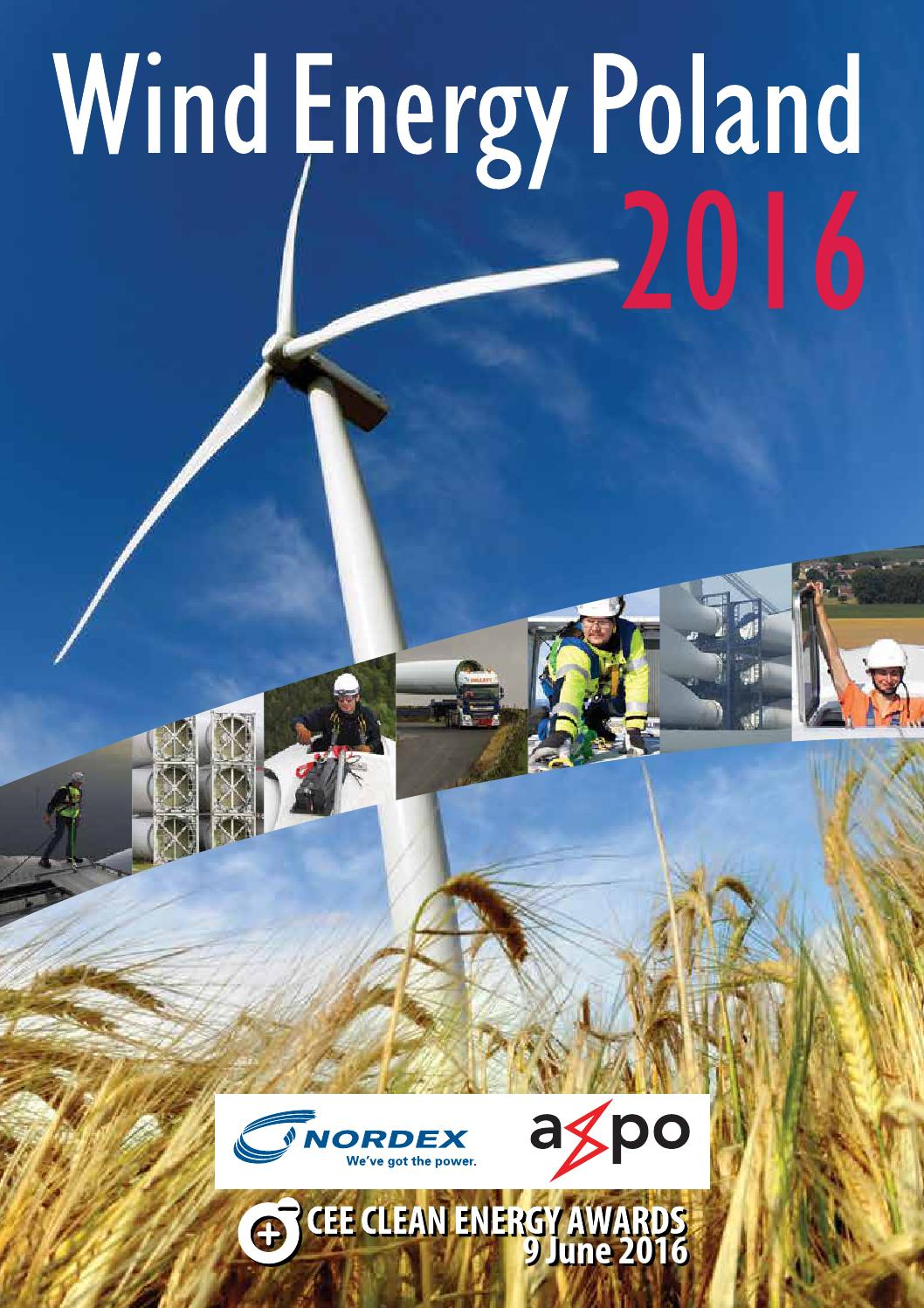 Wind Energy Poland 2016 By Biznespolska Cee Business
