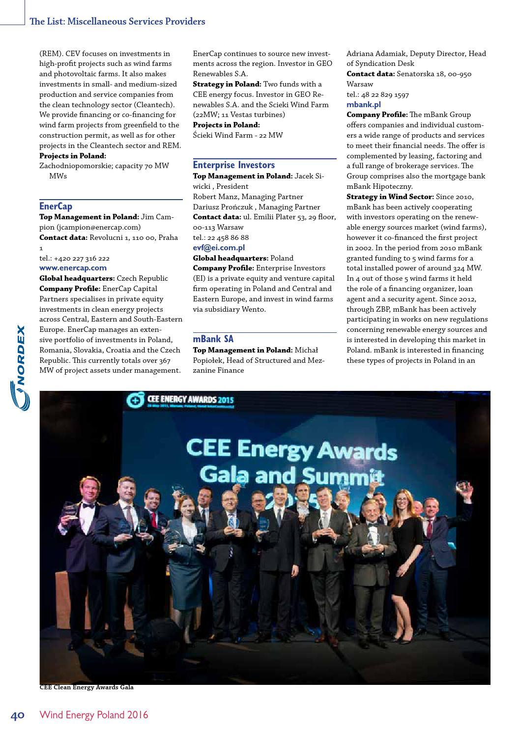 Wind Energy Poland - 2016 by BiznesPolska/CEE Business Media