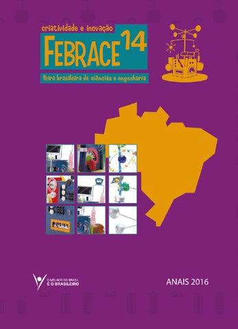 Anais FEBRACE 2016 by FEBRACE - Feira Brasileira de Ciências e ... e13f59c524