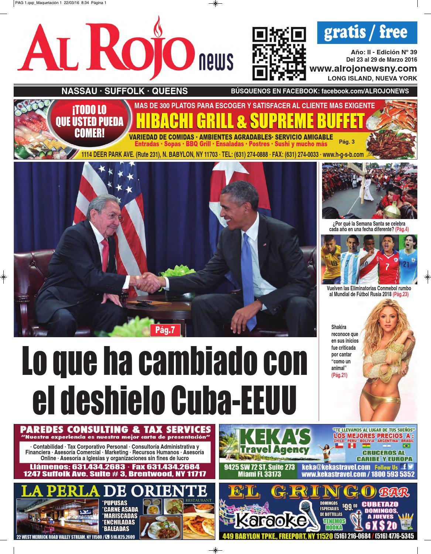 Al Rojo News AÑO II - edición 39 by Jose Rivas - issuu