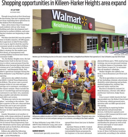 shopping opportunities in killeen harker heights area expand by clay thorp killeen daily herald
