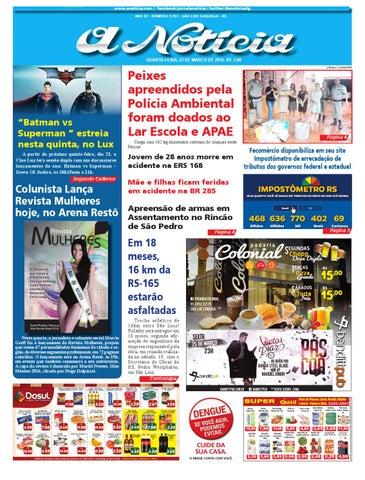 Edição de 23 de março de 2016 by Luiz Fernando Natividade Rocha - issuu bba240a7675a4