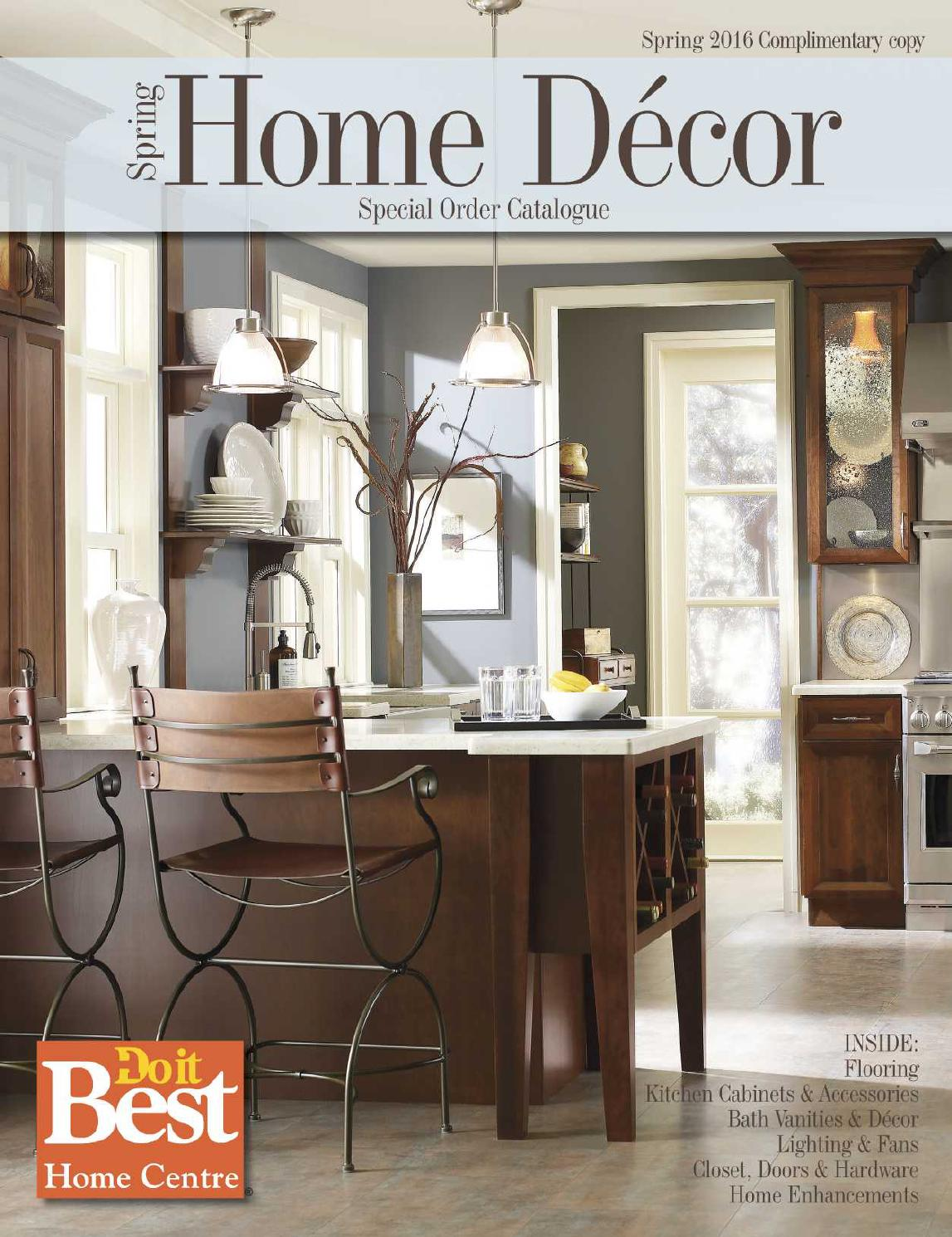 Home decor catalog do it best by do it best barbados issuu for Best home catalogs