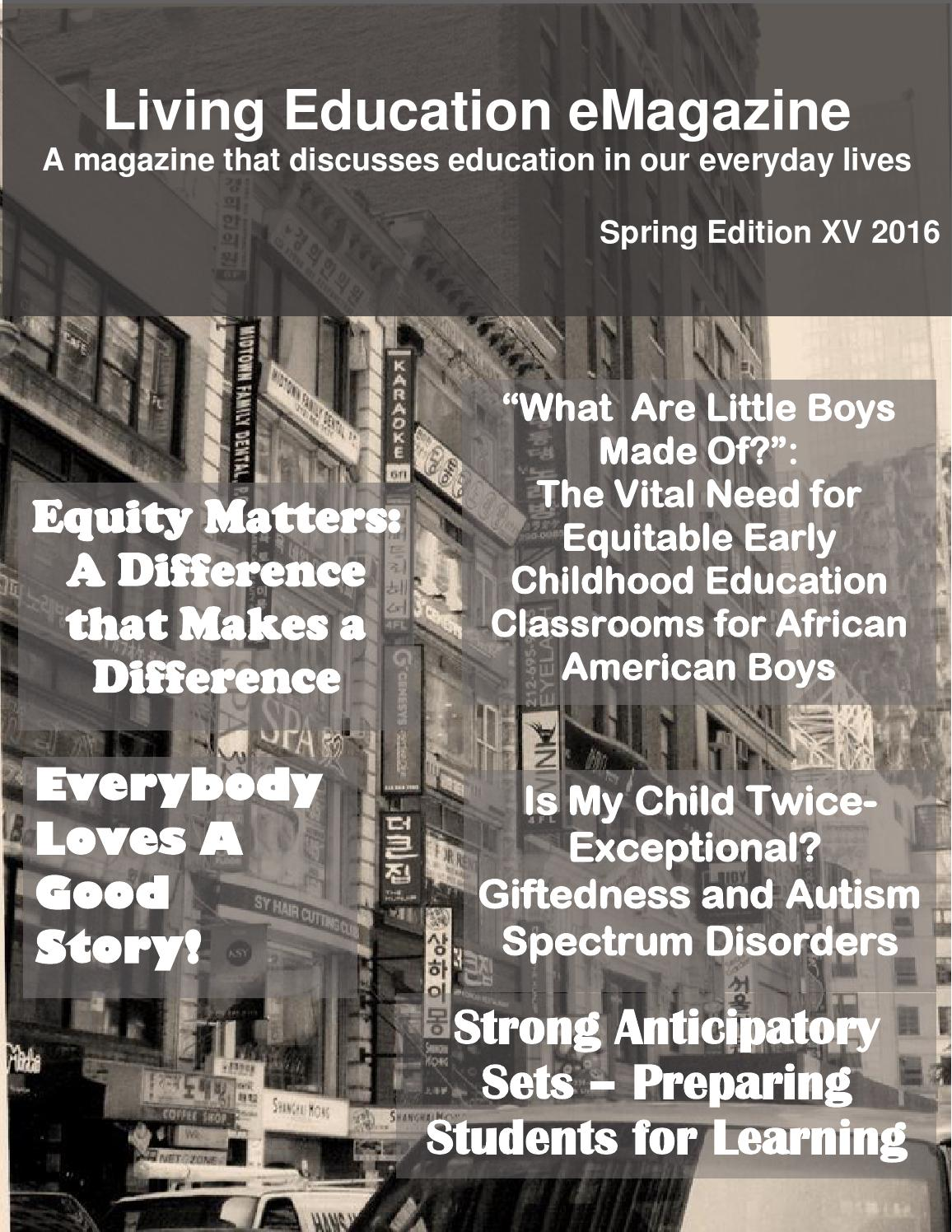 Gifted Ld Misdiagnosed And Misunderstood >> 2016 Spring Edition Of Living Education Emagazine Revised 3 22 16 By