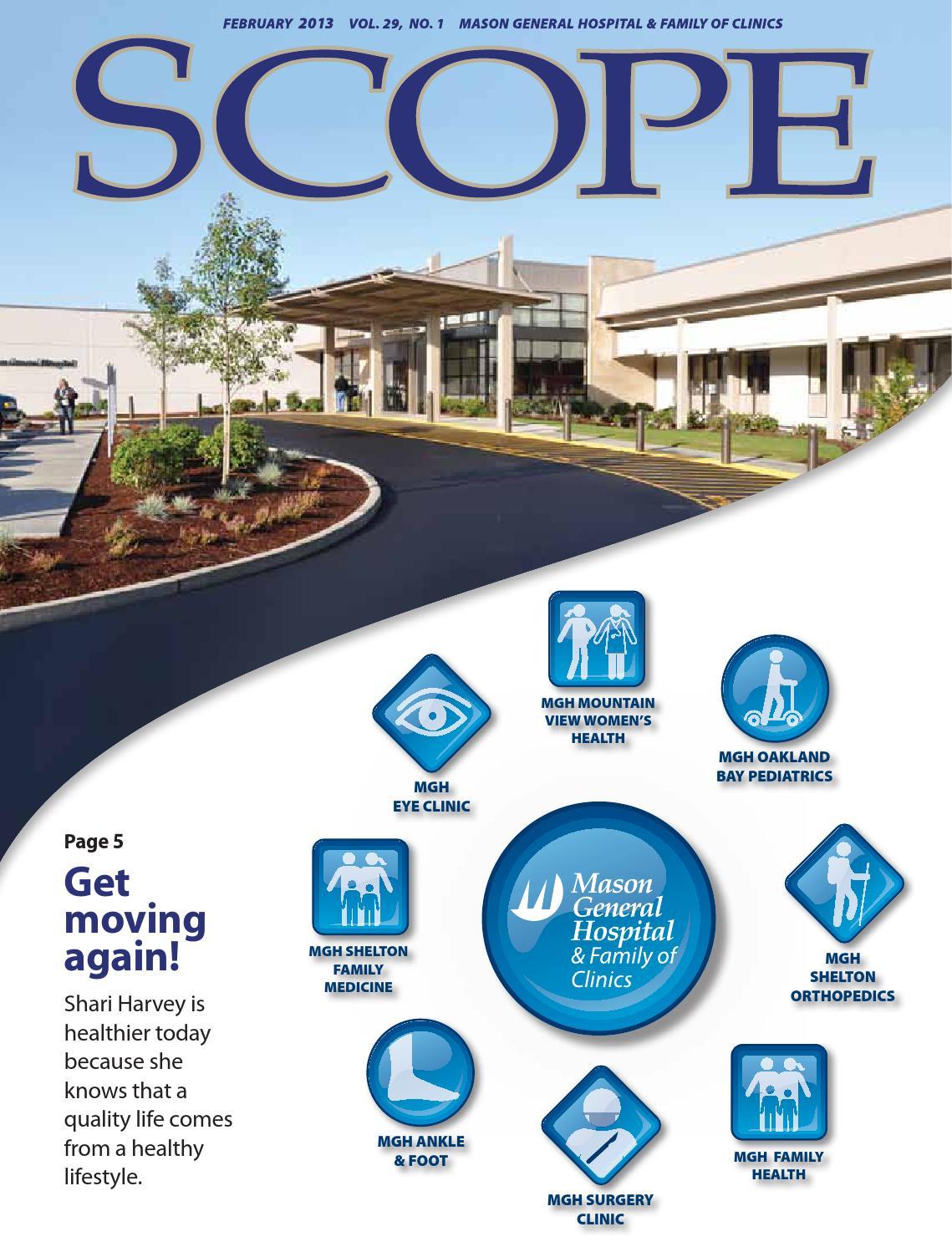 SCOPE Magazine February 2013 by Mason General Hospital