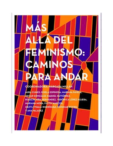 b9d559501c MÁS ALLÁ DEL FEMINISMO  CAMINOS PARA ANDAR by Lenin Wilmer Camacho ...