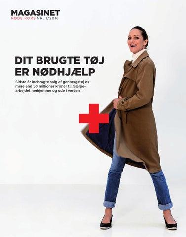 6446bc0bae7 MAGASINET R Ø D E KO R S N R . 1 / 2 0 1 6. DIT BRUGTE TØJ ...