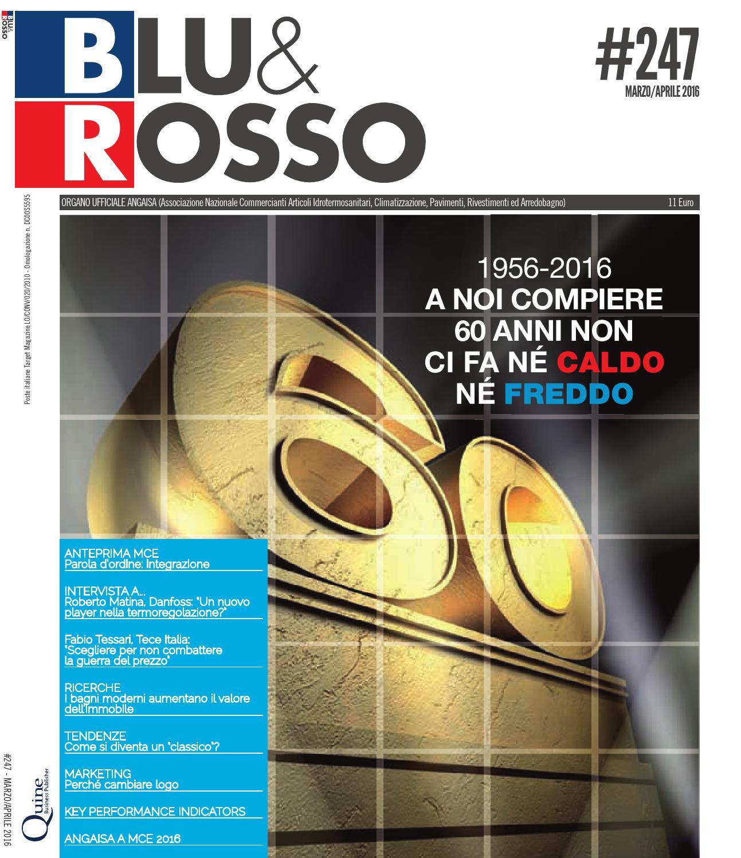 blu&rosso #247 | marzo/aprile 2016 by quine business publisher - issuu - Simonetti Villorba Arredo Bagno