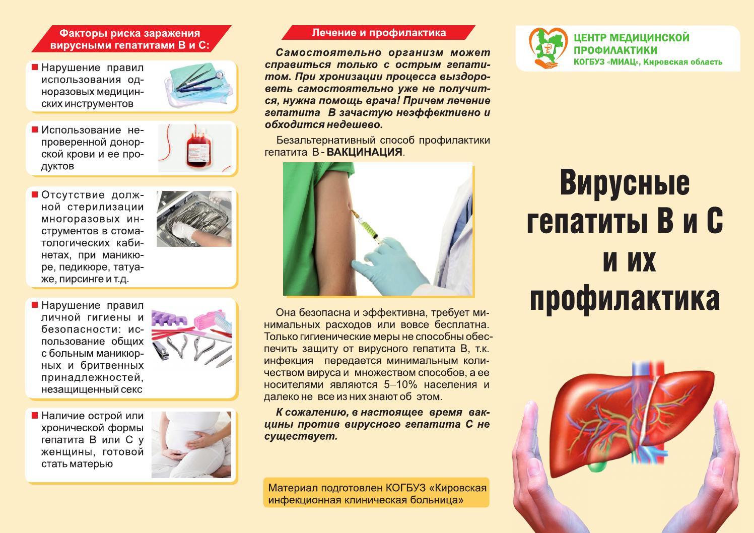 Памятка гепатит а картинки