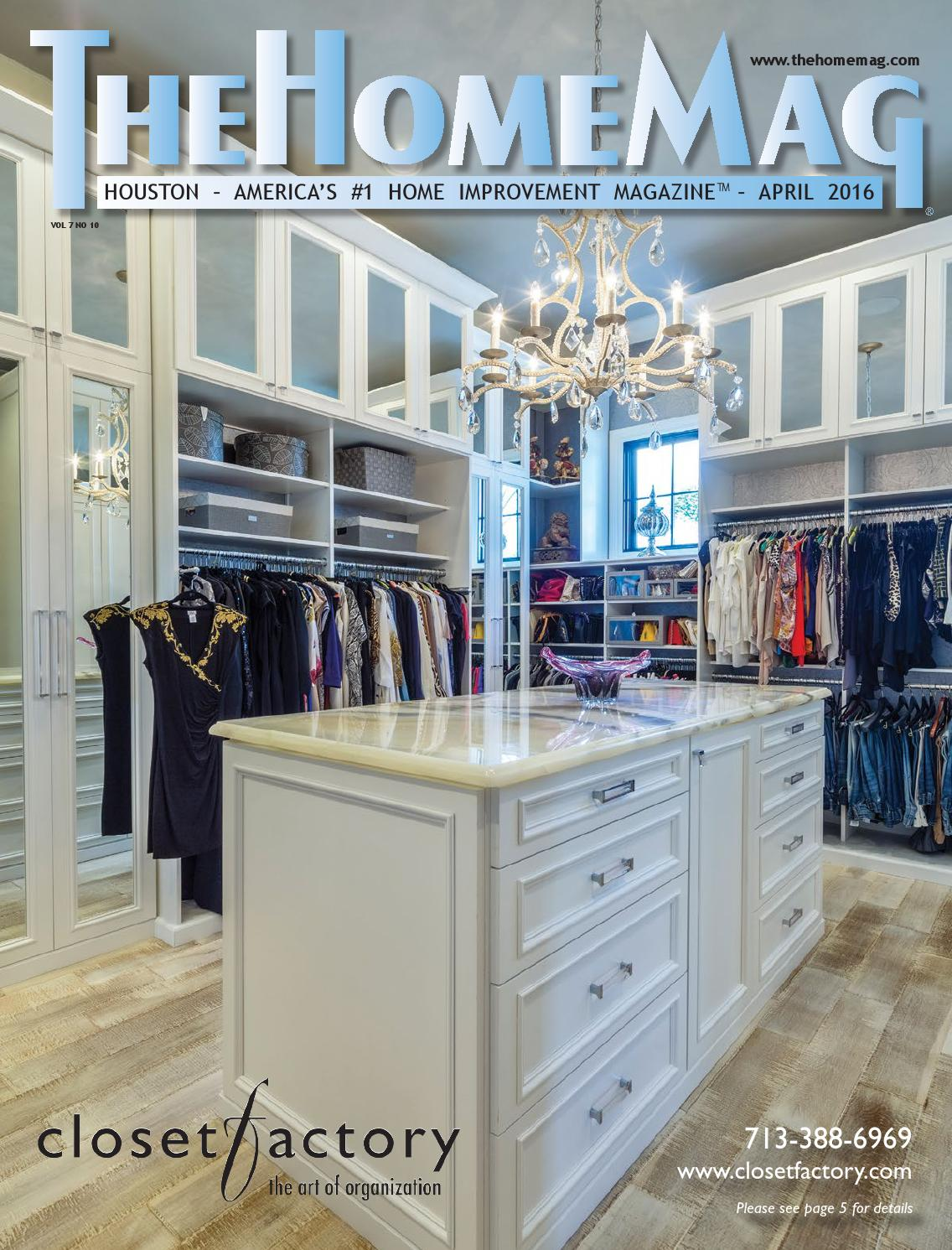 TheHomeMag Houston S April 2016 By TheHomeMag   Issuu