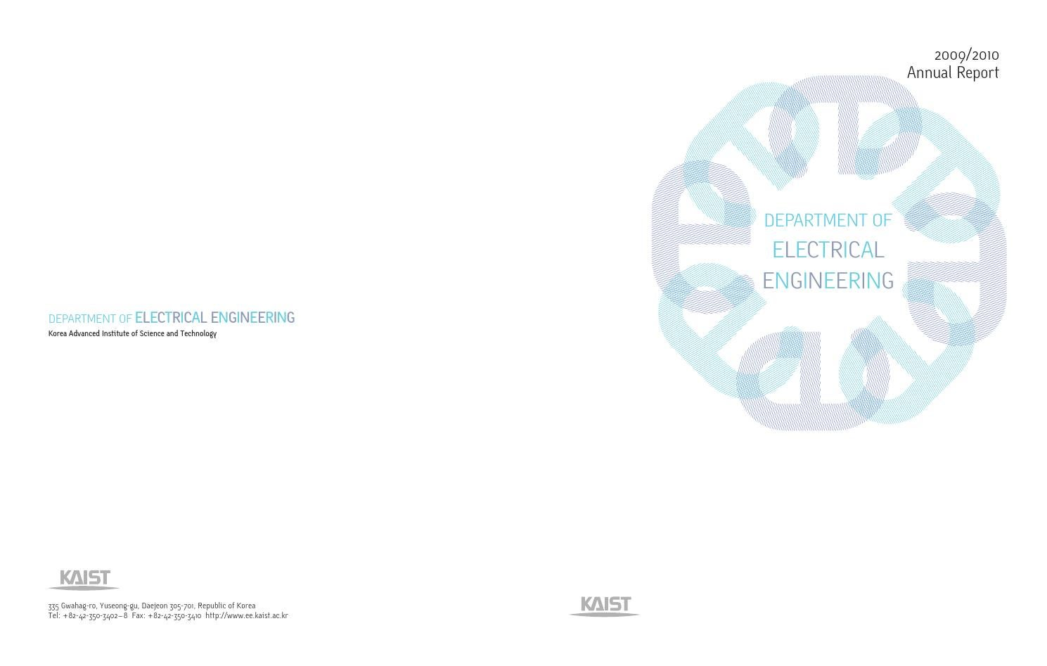 2009/2010 Annual Report by KAIST EE - issuu