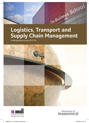 Logistics, Transport and Supply Chain Management 2017/18