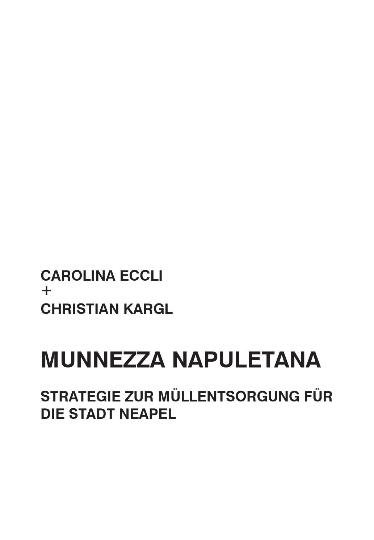 MUNNEZZA NAPULETANA by Christian Kargl - issuu