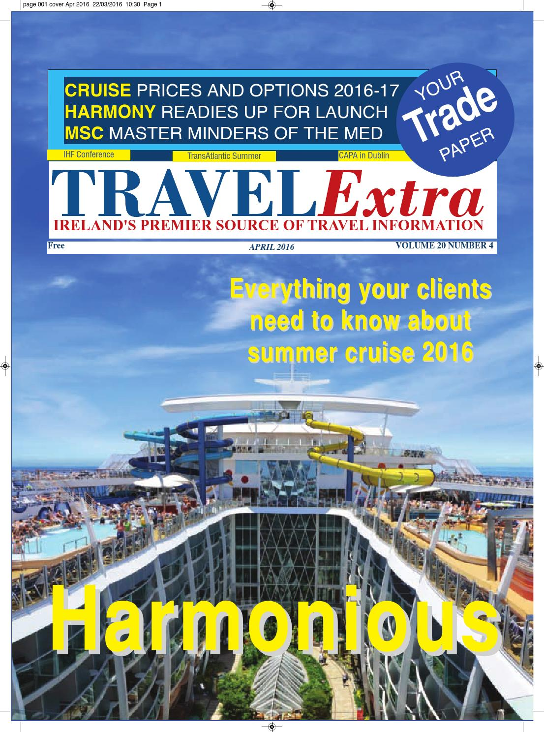 Travel Extra April 2016 by Travel Extra - issuu