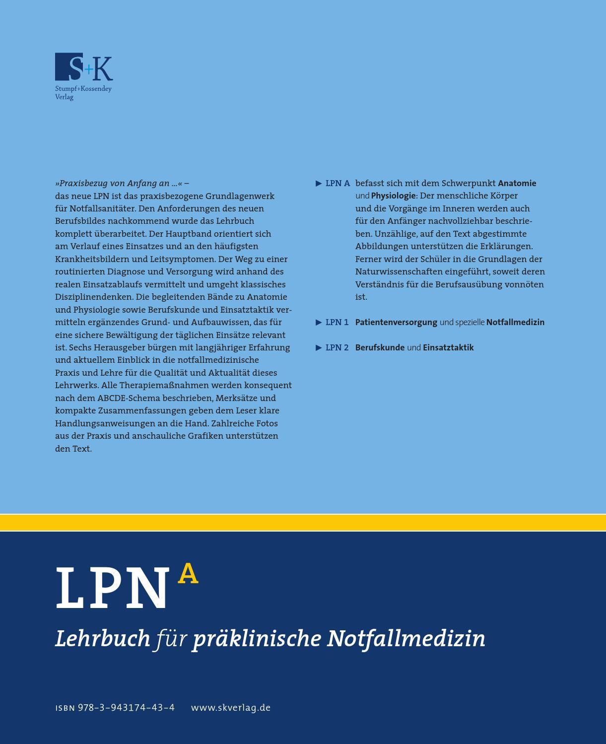 Anatomie und Physiologie by Verlag Stumpf & Kossendey - issuu