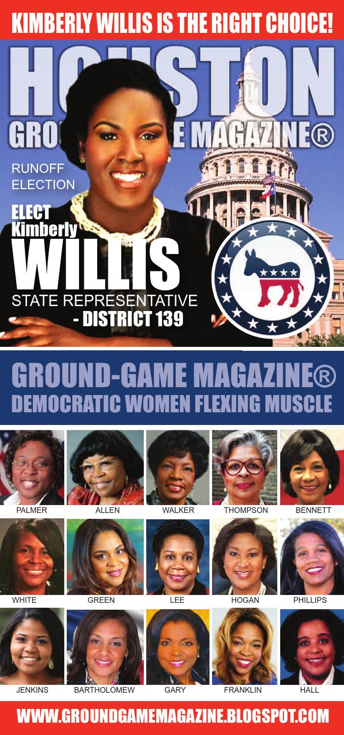 District judge 174th judicial district - Ground Game Magazine Volume 1 No 45 Featuring Kimberly Willis For State Representative District 139 By Aubrey R Taylor Communications Issuu