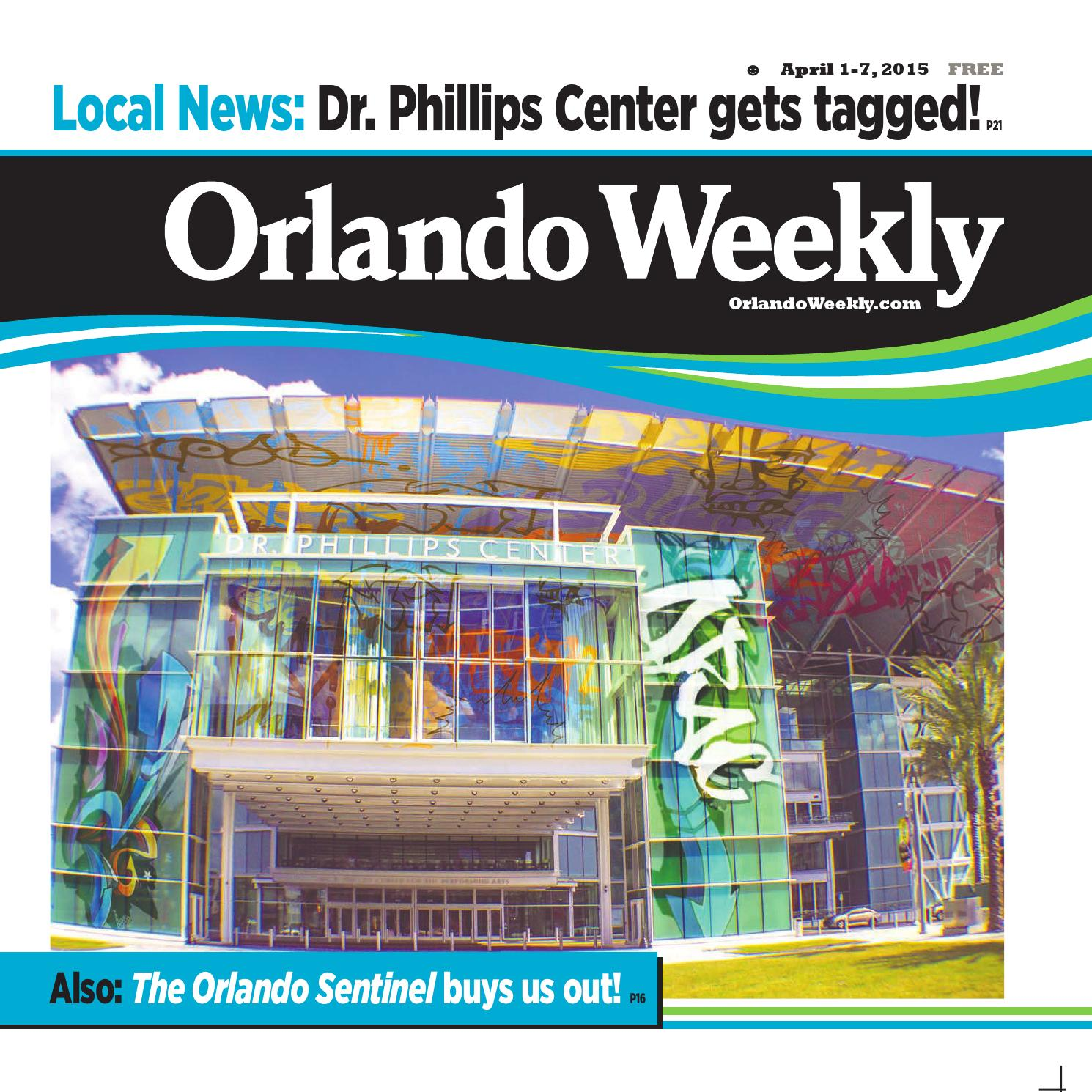Orlando Weekly April 01 2015 By Euclid Media Group Issuu