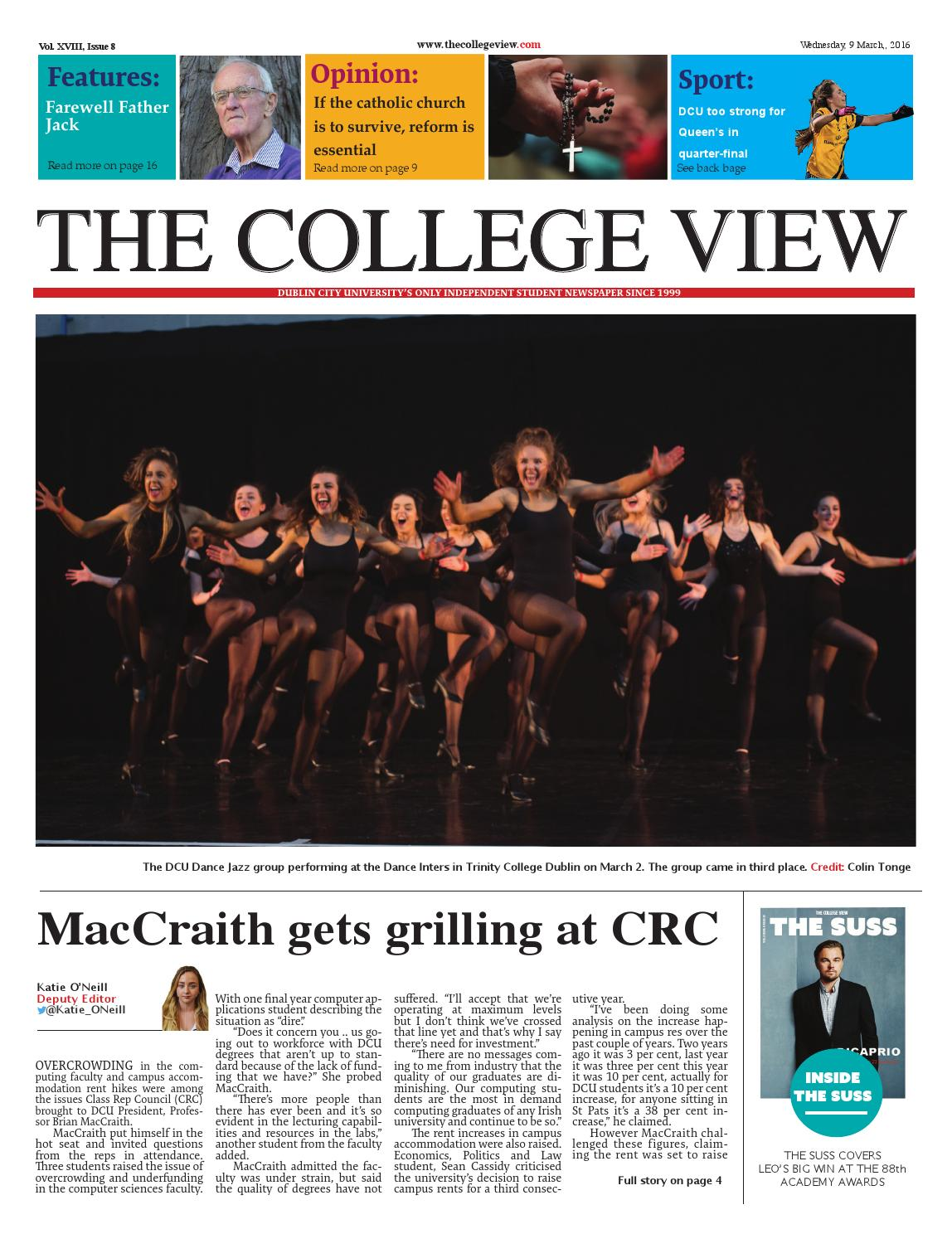 The College View - Issue 8 - XVIII by The College View - issuu