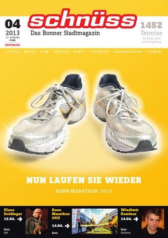 28591ff9b01e91 Schnüss 2013 04 by Schnüss - Das Bonner Stadtmagazin - issuu