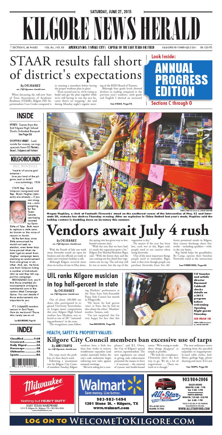 5b9968abd2c23 Kilgore News Herald - June 27