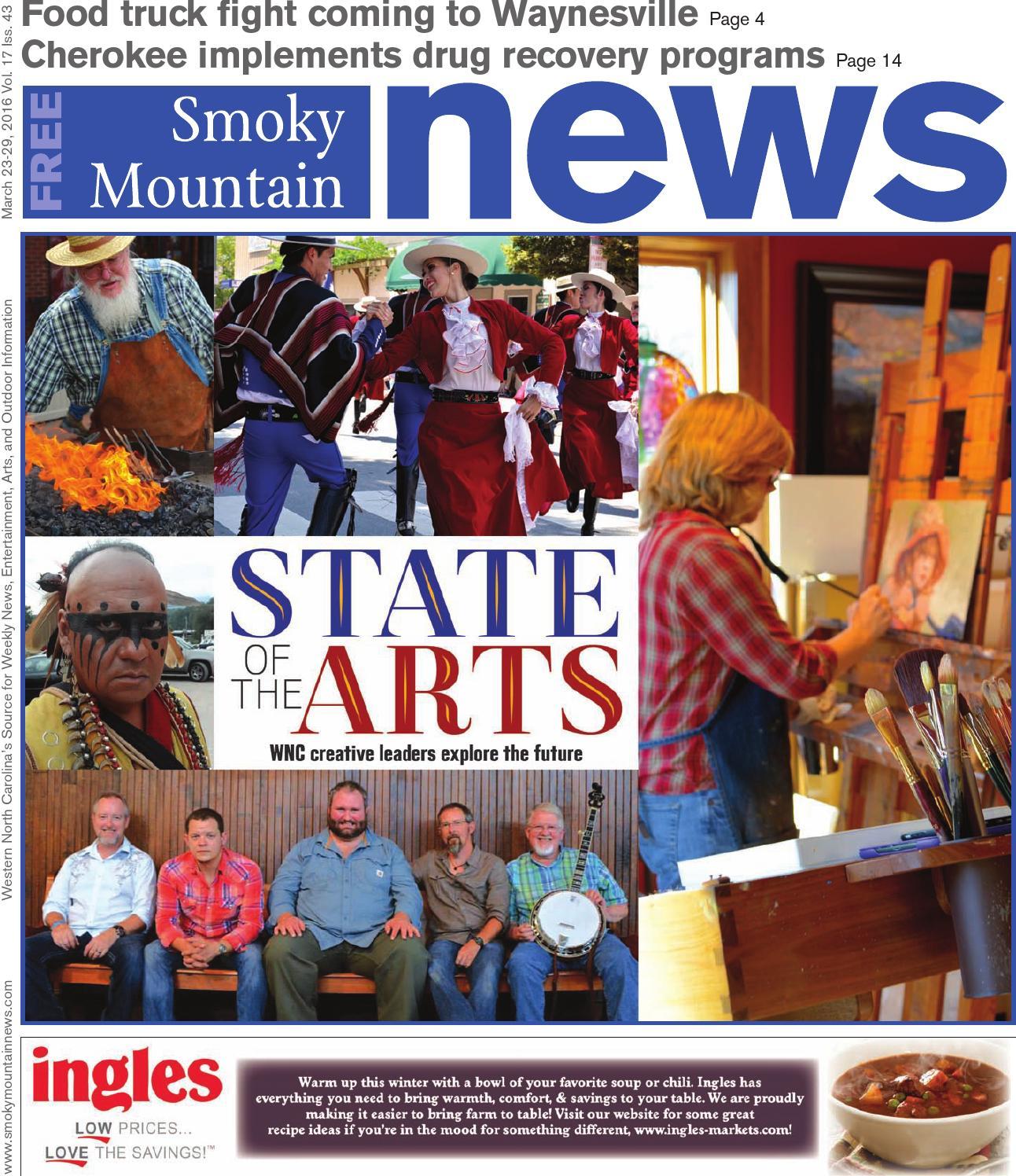 ad934e312 SMN 03 23 16 by Smoky Mountain News - issuu