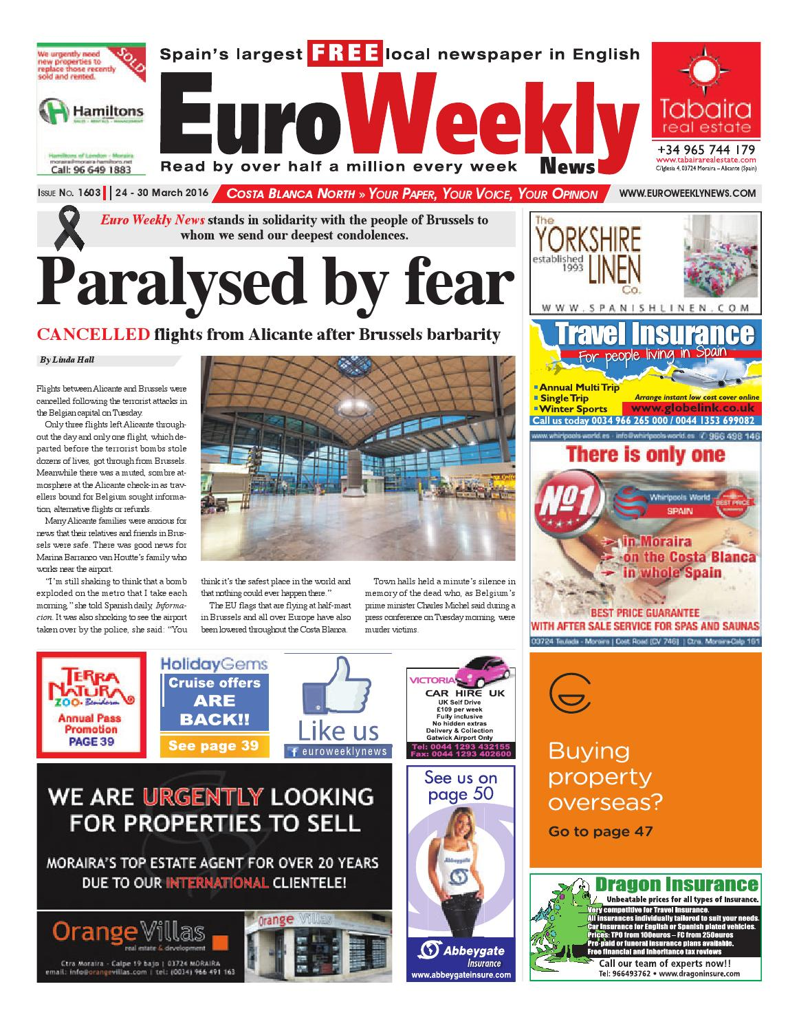 0020c8836c8 Euro Weekly News - Costa Blanca North 24 - 30 March 2016 Issue 1603 ...