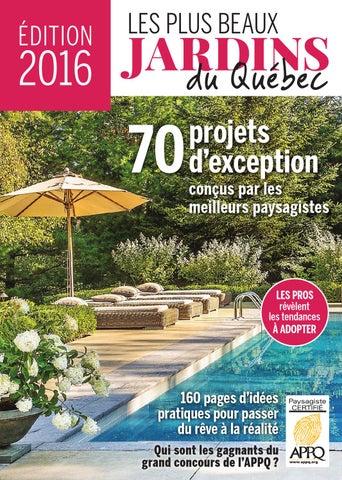 Les plus beaux jardins du Québec, édition 2016 by Éditions Pratico ...