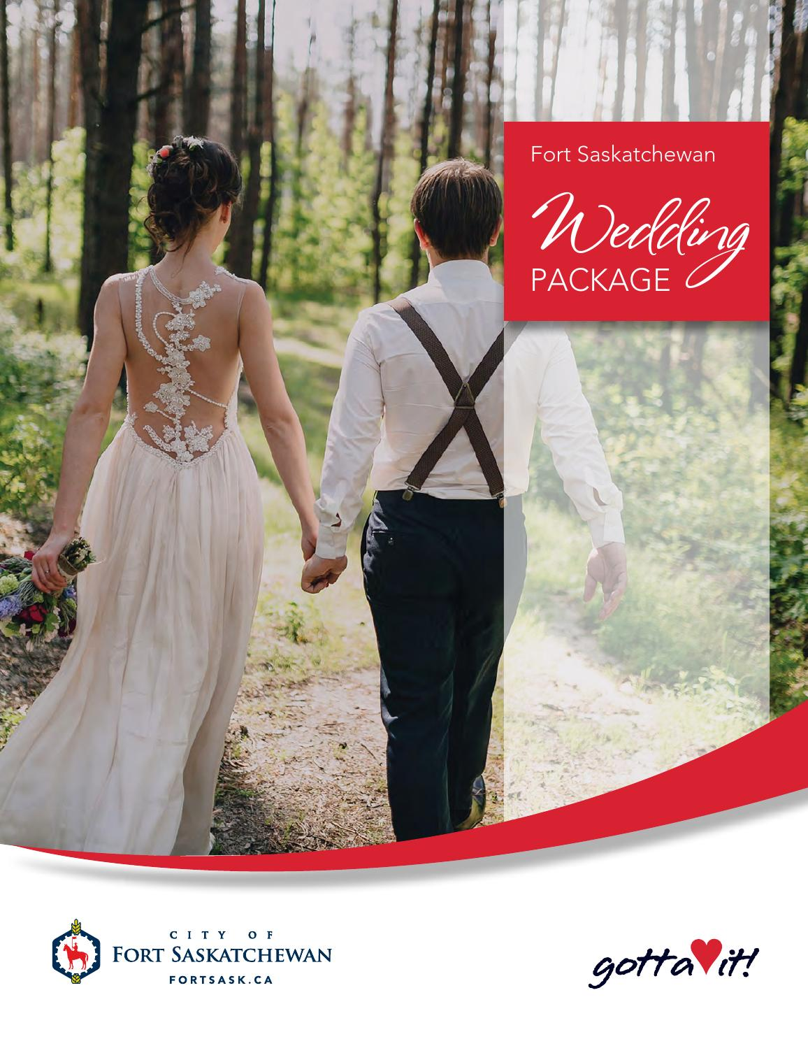 2016 Wedding Package By Fort Sask Issuu