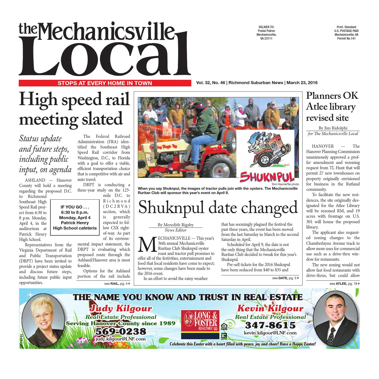 03/23/16 by The Mechanicsville Local - issuu