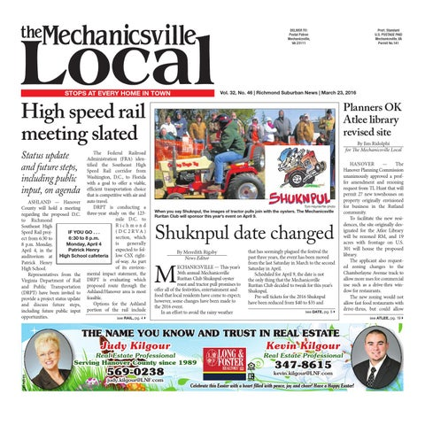 032316 by the mechanicsville local issuu page 1 fandeluxe Gallery